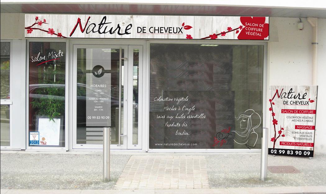 Salon de coiffure végétal : Monexpérience